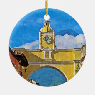 La Merced Arch - Antigua Ceramic Ornament