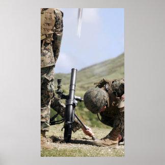 La méthode de direct-configuration de mortiers de poster