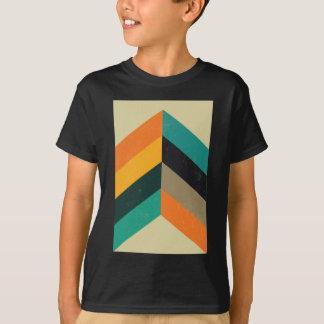 La moitié du siècle Chevron T-shirt