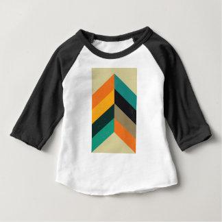 La moitié du siècle Chevron T-shirt Pour Bébé