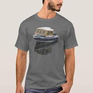 La Monde - Small Seattle Boat T-Shirt