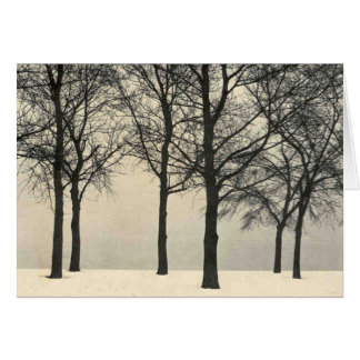 La Monde - Winter Woods Card