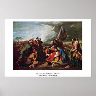La mort du Général Wolfe By West, Benjamin Posters
