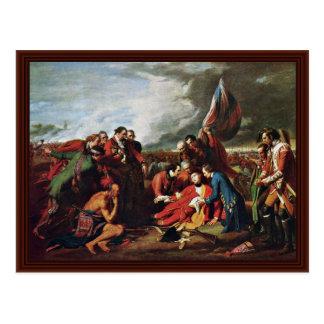 La mort du Général Wolfe By West, Benjamin Cartes Postales
