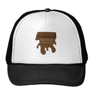La mort par le chocolat casquette de camionneur