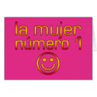 La Mujer Número 1 - Number 1 Wife in Spanish Card