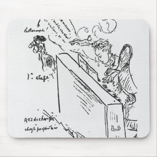 La Musique adoucit les moeurs' Mousepad