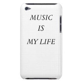 La musique est mon coque-compagnon d'IPod de la vi Coque Case-Mate iPod Touch