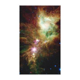 La NASA de l'espace de groupe d'étoile de flocon d Impressions Sur Toile