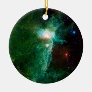 La NASA de nébuleuse de flamme Décoration Pour Sapin De Noël