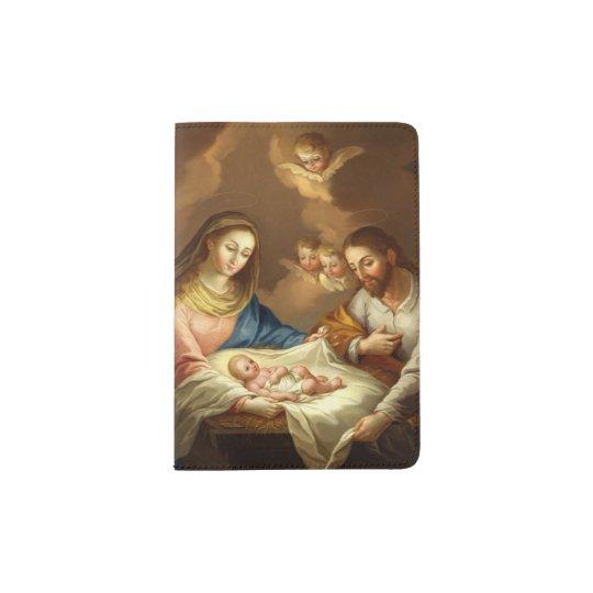 """""""La Natividad"""" art passport cover"""