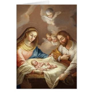 La Natividad Card