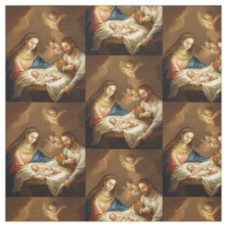 """""""La Natividad"""" custom fabric"""