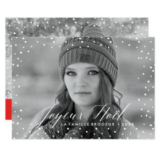 La Neige de Noël | Carte de Noël Card