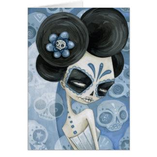 La Novia de los muertos Note Card
