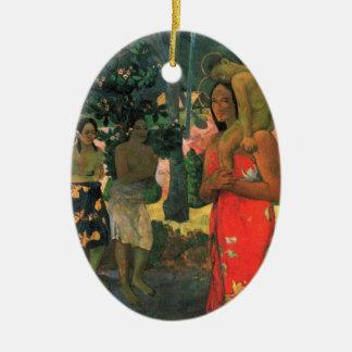 La Orana Maria - Paul Gauguin Ceramic Ornament