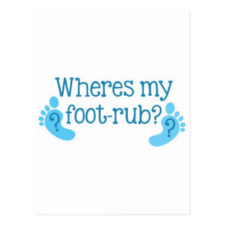 Là où est mon FOOTRUB Cartes Postales