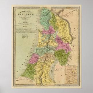 La Palestine, ou la Terre Sainte Poster