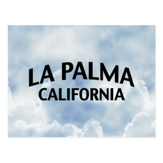 La Palma California Postcard