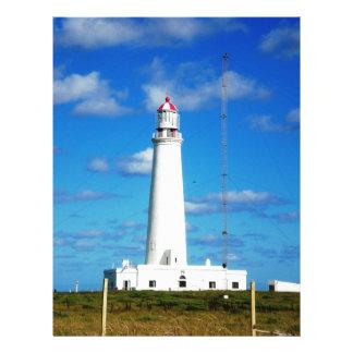 La Paloma Lighthouse Letterhead Template