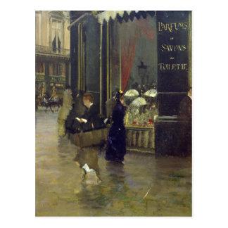 La Parfumerie Viollet, Boulevard des Capucines Postcard