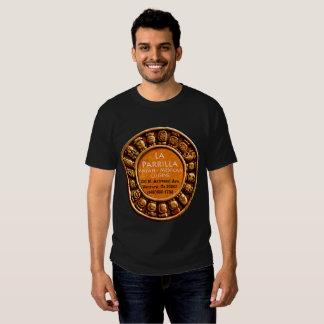 La Parrilla Mexican Food Restaurant Black T-Shirt