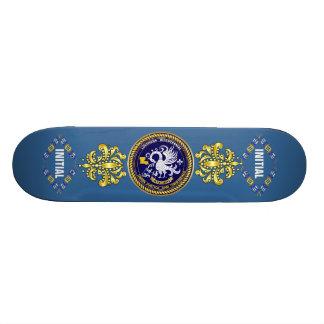 La partie bicentenaire de mardi gras de la Louisia Skateboards