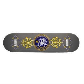 La partie bicentenaire de mardi gras de la Louisia Skateboard 21,6 Cm