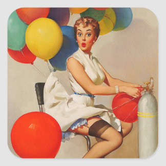 La partie vintage d hélium monte en ballon le Pin Adhésif