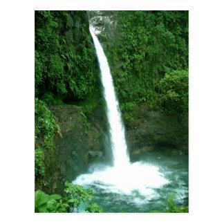 La Paz Waterfall, Costa Rica Postcard