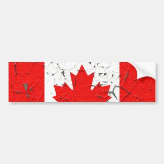 La peinture canadienne d'épluchage du CANADA de Autocollant De Voiture