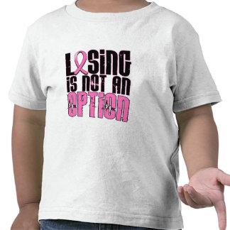 La perte n'est pas un cancer du sein d'option t-shirts