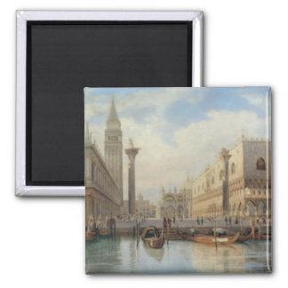 La Piazza San Marco Venice, Salomon Corrodi Magnet