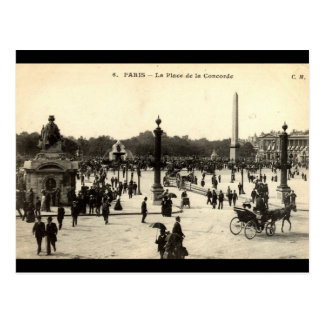 La Place Castellane, Marseille France 1910 Vintage Postcard