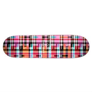 La planche à roulettes créent vos propres skateboards personnalisés