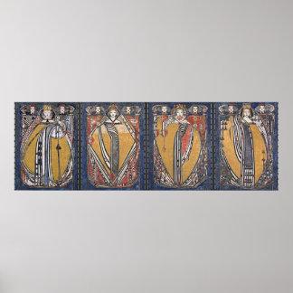 La plate-forme de la Reine quatre des cartes