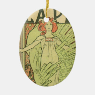La Plume Ceramic Ornament