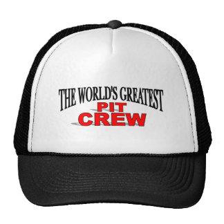 La plus grande équipe du stand de ravitaillement d casquettes de camionneur