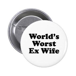 La plus mauvaise épouse ex du monde badges