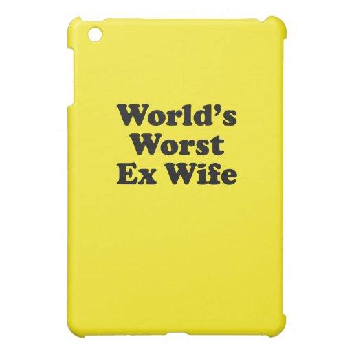 La plus mauvaise épouse ex du monde coque iPad mini