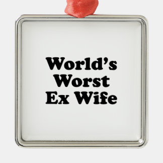 La plus mauvaise épouse ex du monde ornements de noël