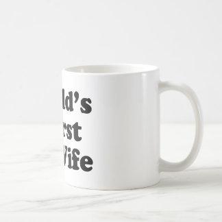 La plus mauvaise épouse ex du monde mug à café