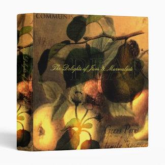 La Poire #1 Vinyl Binders