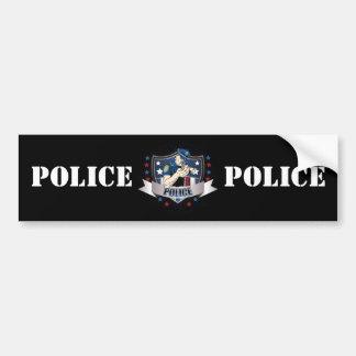 La police Crest Autocollant De Voiture