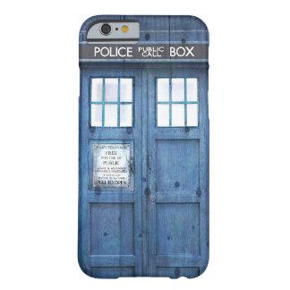 La police drôle téléphone la cabine téléphonique coque barely there iPhone 6