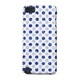 La polka bleue de paillette a pointillé la lumière coque iPod touch 5G