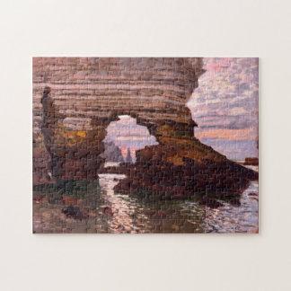 La Porte d'Amont, Étretat Monet Fine Art Jigsaw Puzzle