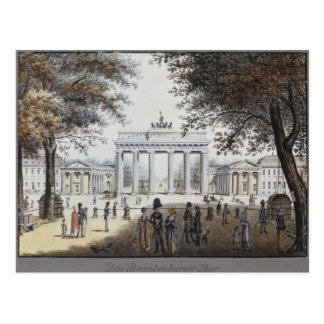 La Porte de Brandebourg, Berlin Carte Postale