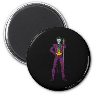 La position de classique de joker magnet rond 8 cm