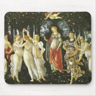 La Primavera by Sandro Botticelli Mouse Pad